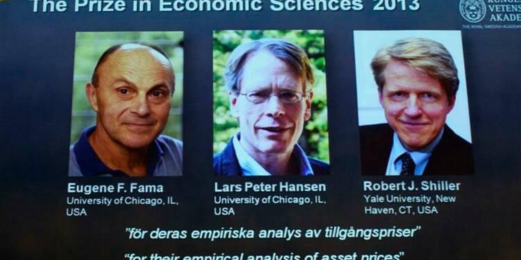 Le Nobel d'économie à trois chercheurs américains