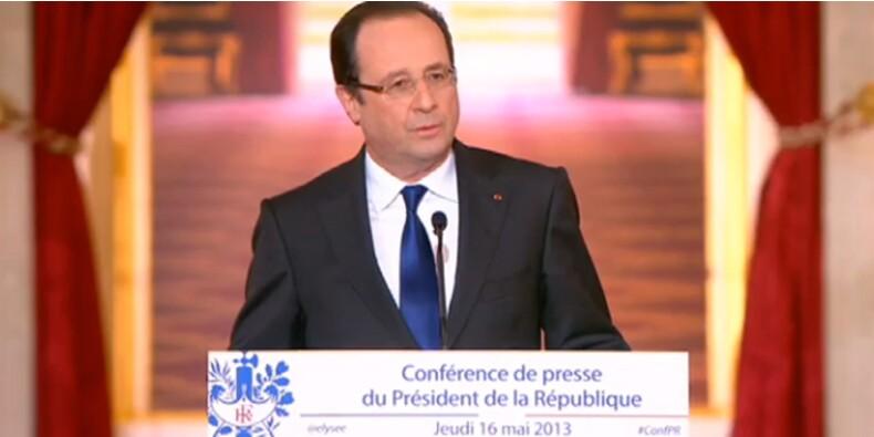 Suivez en direct la conférence de presse de François Hollande