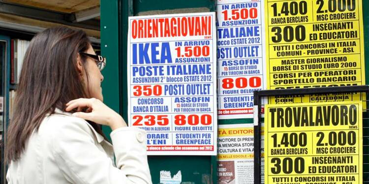 Légère baisse du taux de chômage italien en février