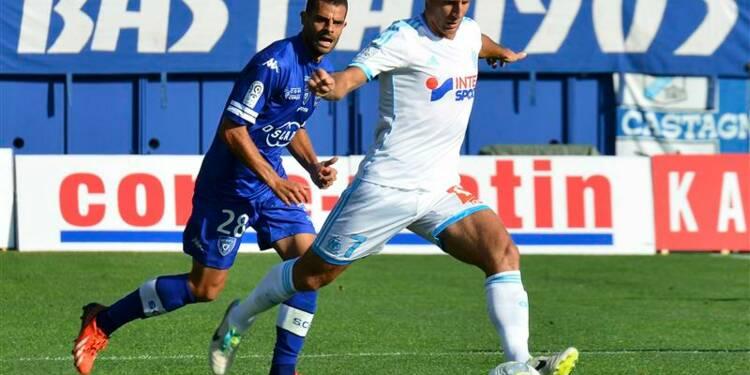 Ligue 1: l'OM ne gagne toujours pas