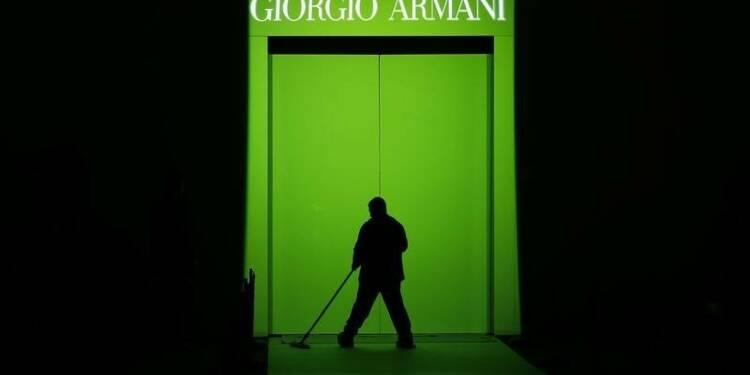 Armani veut continuer d'investir après une bonne année 2013