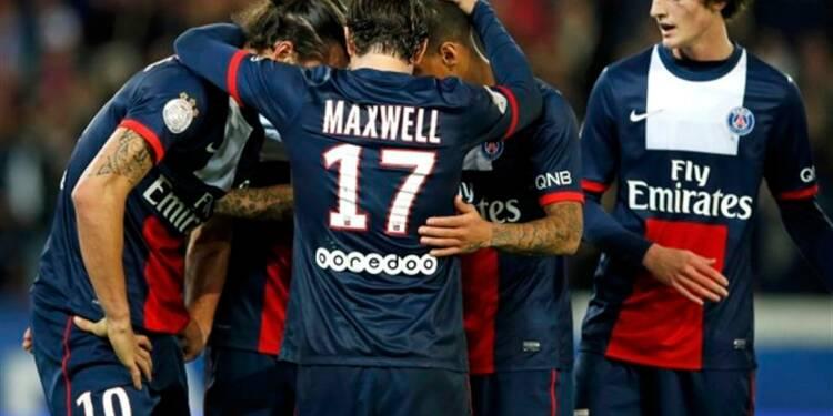 Ligue 1: le Paris Saint-Germain s'échappe en tête