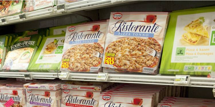 L'insatiable appétit du pizzaiolo allemand Dr.Oetker