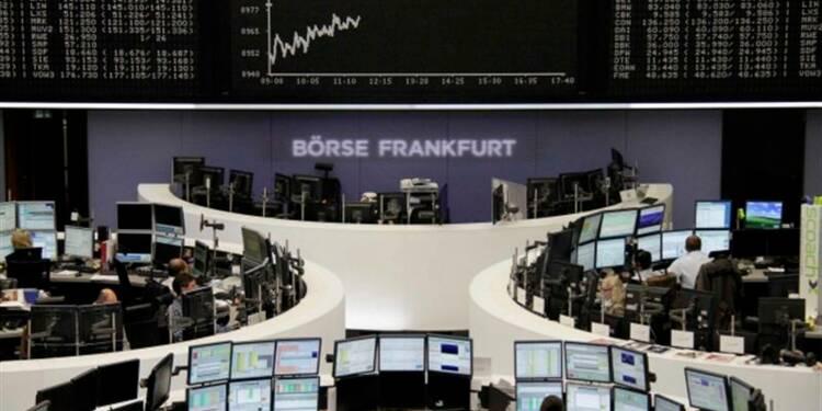 Les Bourses européennes quasi-stables à la mi-séance