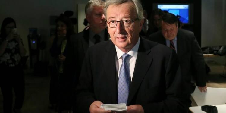 Juncker défend sa candidature à la tête de la Commission