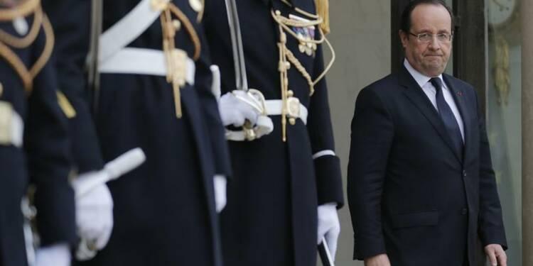 François Hollande affronte la grogne des fonctionnaires