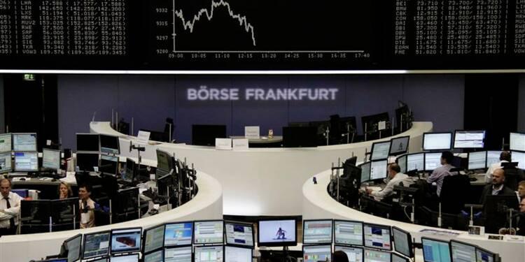 Les Bourses européennes perdent leurs gains à la mi-séance