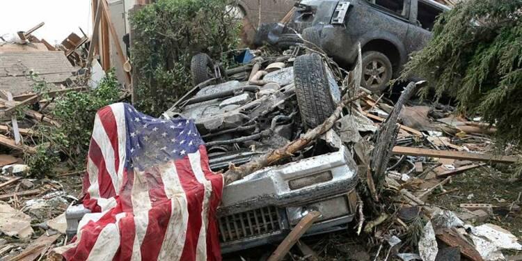 Plus de 50 morts après une tornade géante dans l'Oklahoma