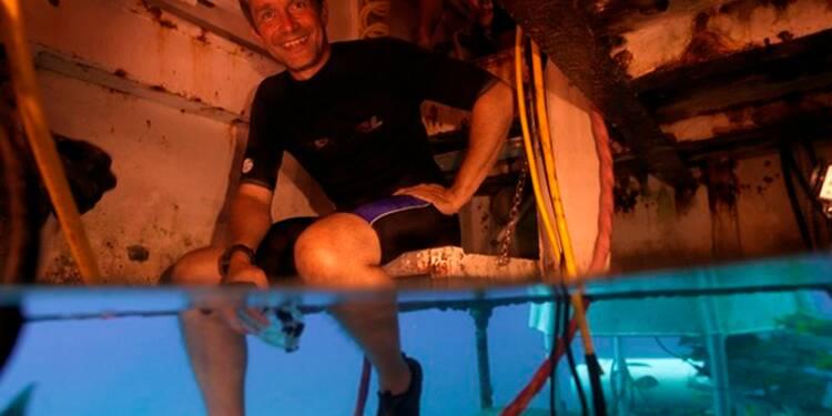Mission sous-marine inédite d'un petit-fils de Jacques Cousteau