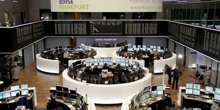 Légère hausse des principales Bourses européennes à la mi-séance