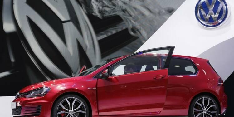 Les ventes de Volkswagen en hausse de 7% en septembre