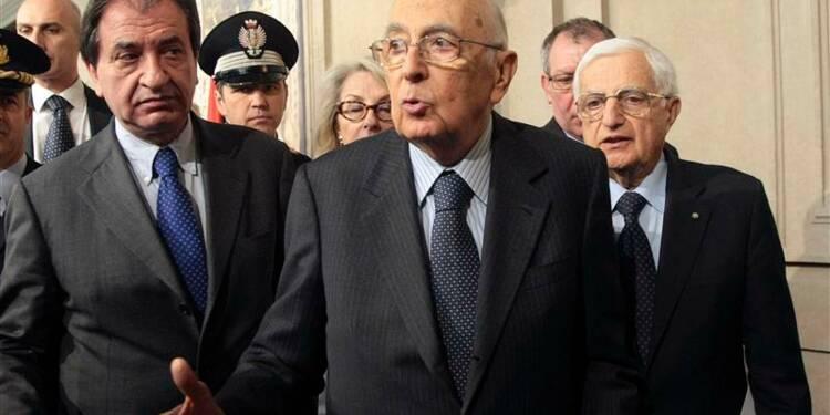Napolitano restera à son poste jusqu'à la fin de son mandat