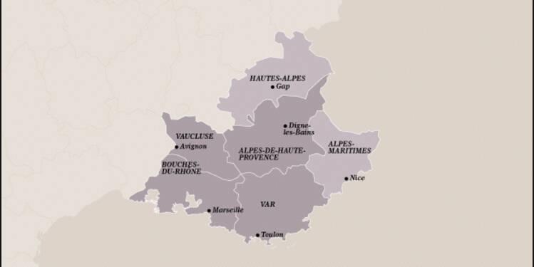 PACA (8ème) : la région est réveillée par le dynamisme de Marseille