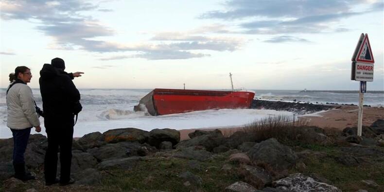 L'armateur du cargo d'Anglet doit régler le risque de pollution