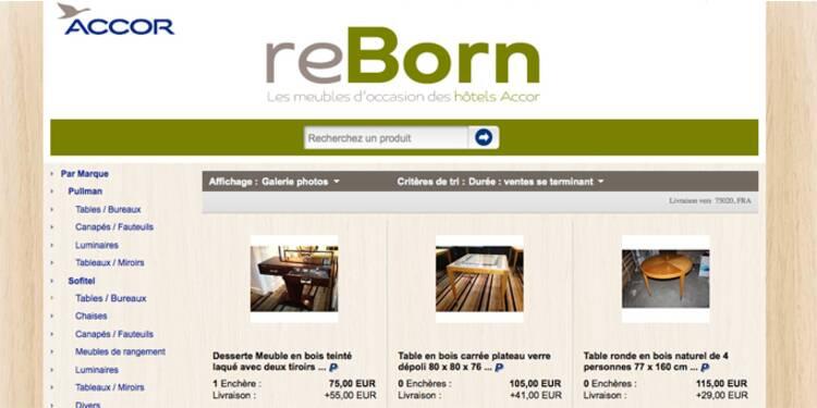 Accor écoule les meubles de ses hôtels sur eBay