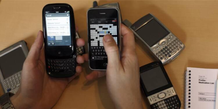 Face à l'iPhone, le Palm rame