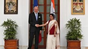 Laurent Fabius confiant pour le Rafale, l'Inde plus réservée