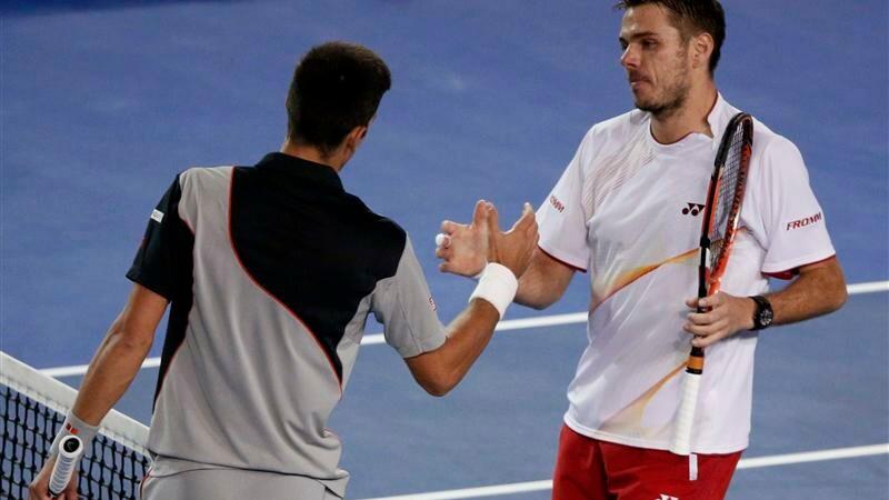Open d'Australie: Wawrinka sort Djokovic en cinq sets