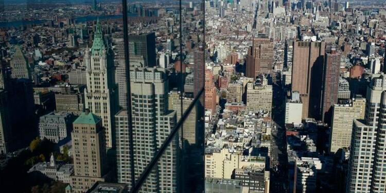 Ouverture de la 1ère tour du World Trade Center à Ground Zero