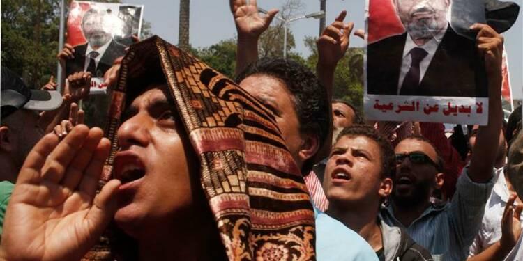 Le camp islamiste se mobilise après l'éviction de Mohamed Morsi