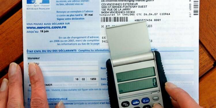 Le nombre de foyers entrés dans l'impôt a baissé en 2013