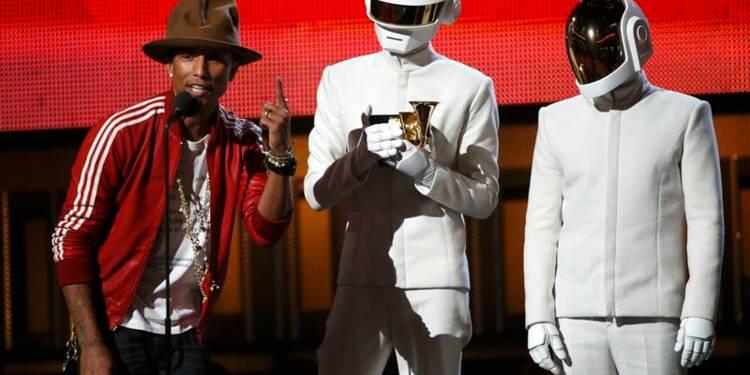Daft Punk, reçus cinq sur cinq aux Grammy Awards