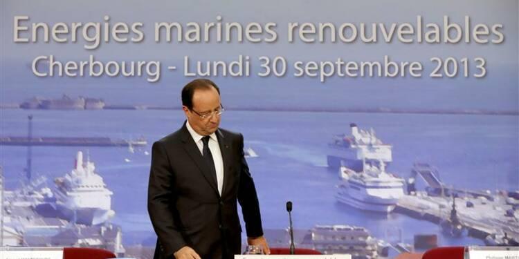 Hollande à Cherbourg pour donner le coup d'envoi à l'hydrolien