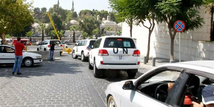 Le site de l'attaque chimique présumée en Syrie va être inspecté