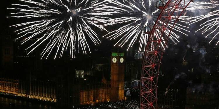 Dubaï voit grand et Londres mange fruité pour le nouvel an