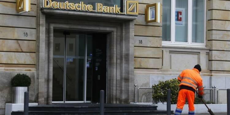 Le bénéfice imposable de Deutsche Bank bat le consensus