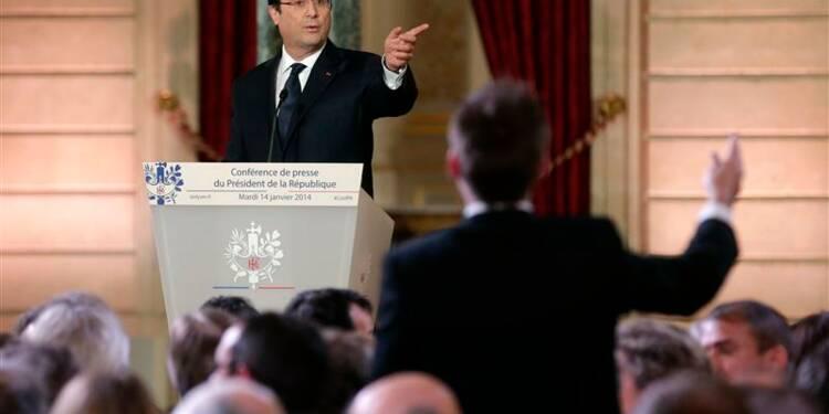 Des Français peu convaincus par Hollande mais indulgents