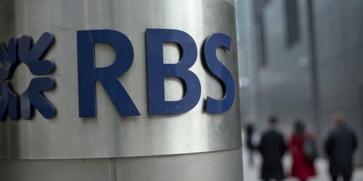 Retour au bénéfice de RBS au 1er trimestre