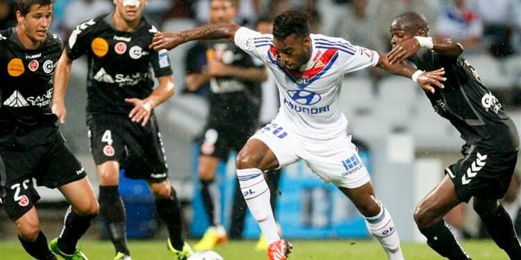 Ligue 1: André-Pierre Gignac délivre l'OM à Valenciennes