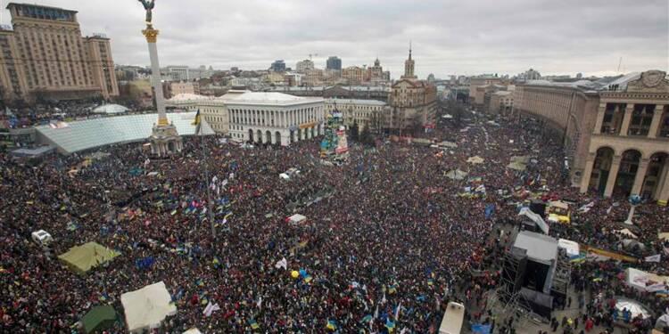 L'opposition ukrainienne mobilise pour l'Europe à Kiev