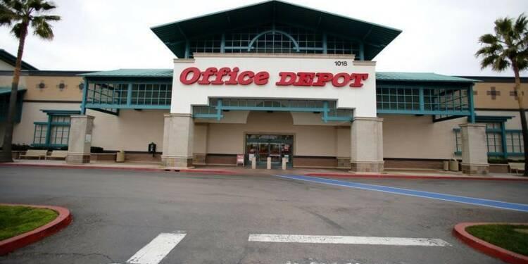 Office Depot compte fermer 400 magasins et relève ses prévisions
