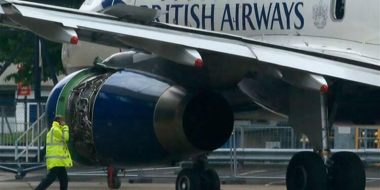 Atterrissage d'urgence à Londres d'un Airbus de British Airways