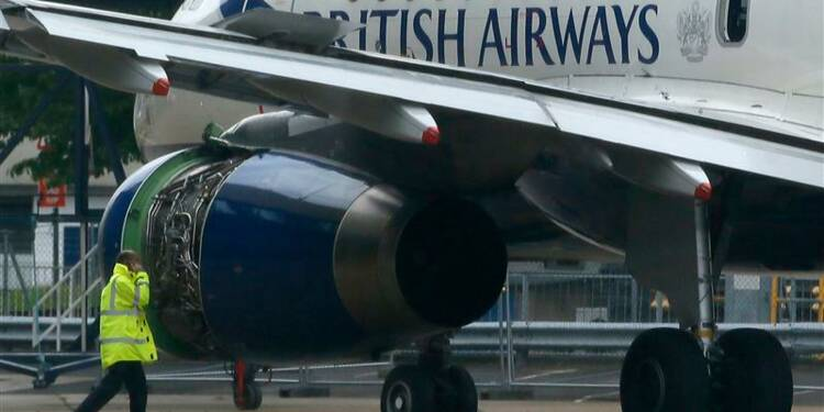 Atterrissage d'urgence à Londres d'un Airbus de British Airways