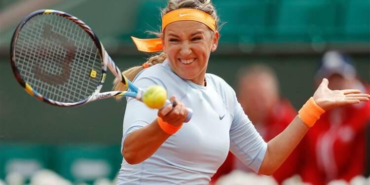 Roland-Garros: Azarenka au 2e tour, Radwanska au 3e
