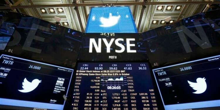 Twitter entre en Bourse à 45,10 dollars