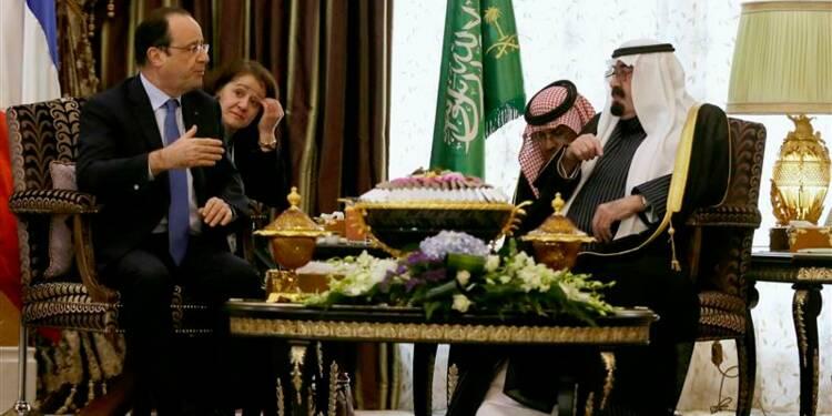 Hollande se place comme un allié clé de l'Arabie au Moyen-Orient