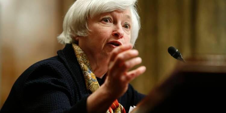 Janet Yellen appelle le Congrès américain à agir sur le budget
