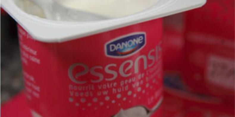 Le yaourt beauté de Danone démarre mou