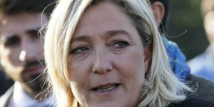 Marine Le Pen veut un référendum sur le maintien dans l'UE
