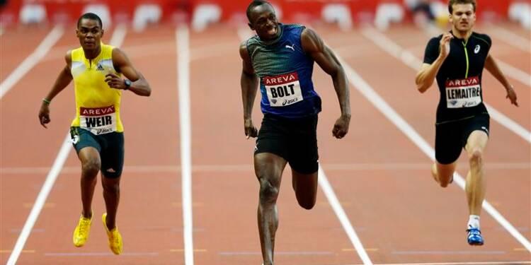 Athlétisme: Usain Bolt le plus rapide sur 200m cette année