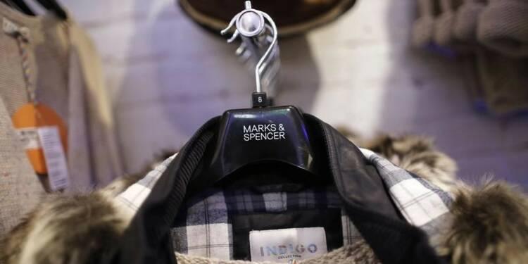 Nouveau recul du bénéfice annuel de Marks & Spencer