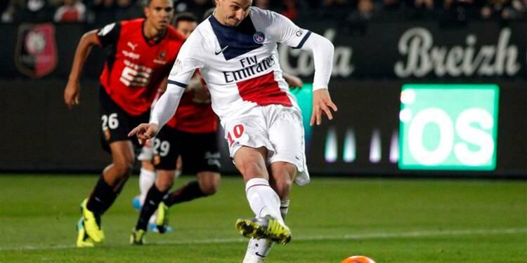 Ligue 1: Paris s'impose à Rennes sans trembler