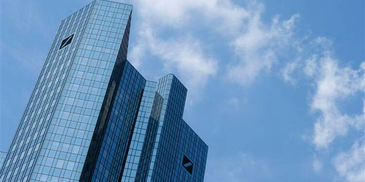 Chute du bénéfice de Deutsche Bank au 3e trimestre