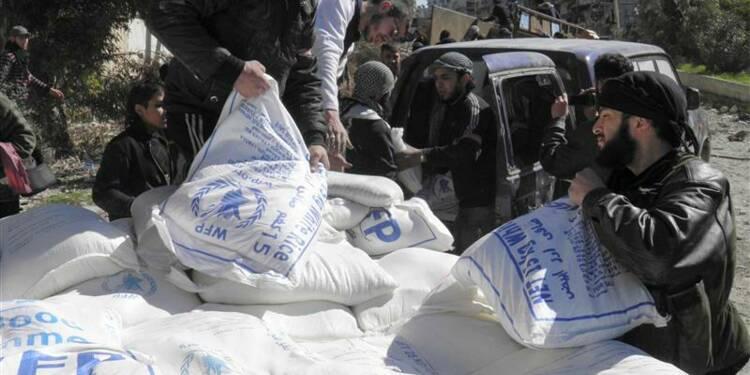 Un projet de résolution russe sur l'aide en Syrie à l'Onu