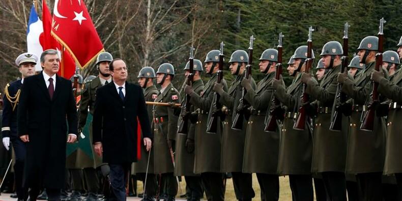 François Hollande rassure la Turquie sur son avenir européen