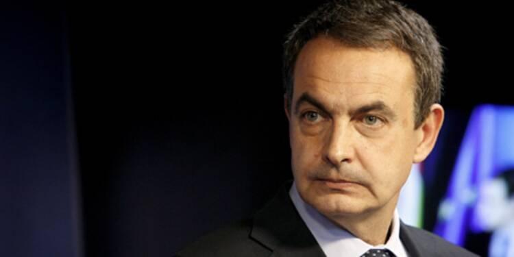 Zapatero fait face à un recul sans précédent de l'économie espagnole
